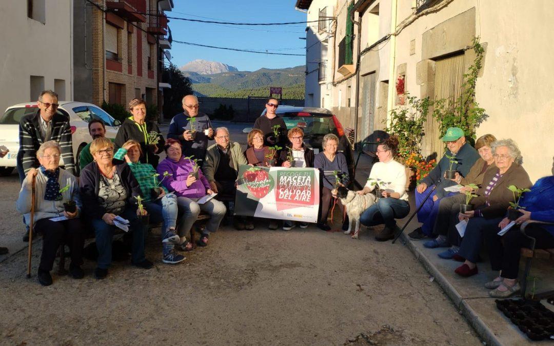 #VigilantesDelAire en Aragón: Crónica del reparto en la Ribagorza (Huesca)