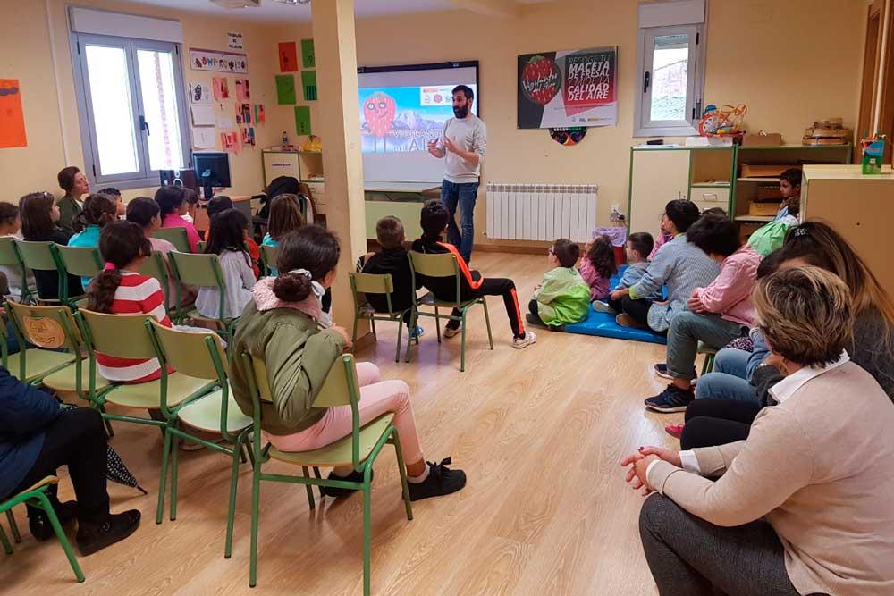 Hormilla (La Rioja) colabora con #VigilantesdelAire