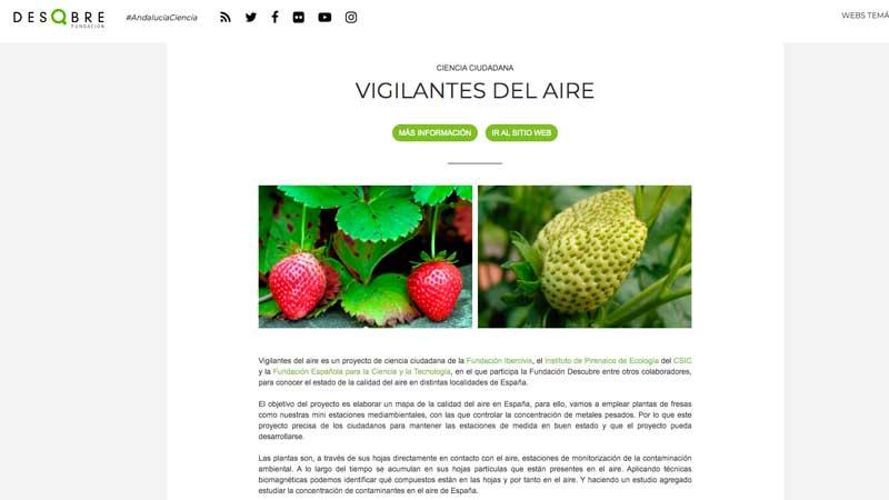 #VigilantesDelAire en Granada. Presentación