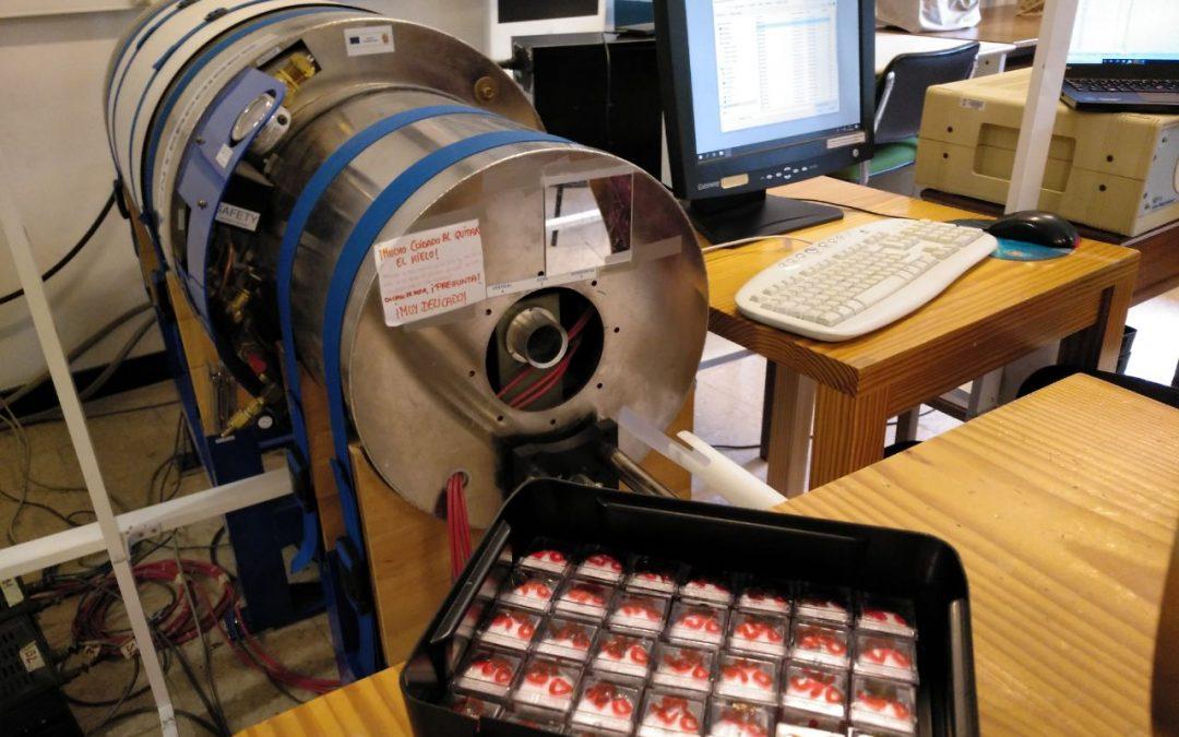 Así comienza el proceso de análisis de las muestras de Vigilantes del aire.